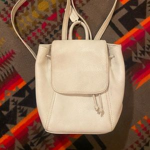 Vintage white coach backpack